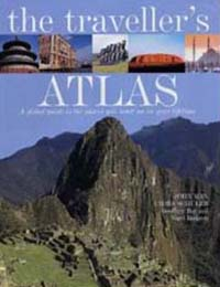 Front cover of The Traveller's Atlas by C J Schüler and others